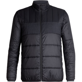 Icebreaker Stratus X Jacket Men Black/Jet Heather